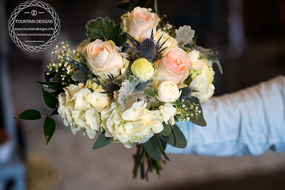 Junior Bouquet 2895 Rose Boutonniere 1195 With Babies Breath 1295 And Ranunculus 1595