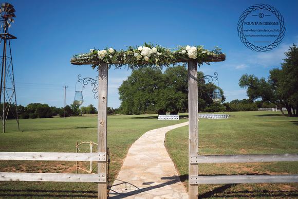 Arch Arrangement- $329.95 (done on both sides)